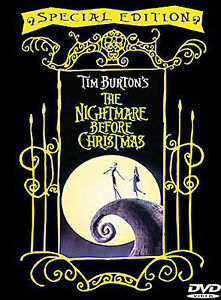 The Nightmare Before Christmas (DVD, 200...