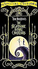 The Nightmare Before Christmas (VHS, 200...