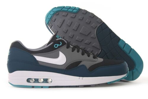 Nike Air Max 1 Essential TURQUOISE GREY BLACK WHITE 537383 013 Mens Running *New in Clothing, Shoes & Accessories, Men's Shoes, Athletic | eBay
