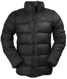 nike basic down jacket schwarz herren jacke daune 550. Black Bedroom Furniture Sets. Home Design Ideas