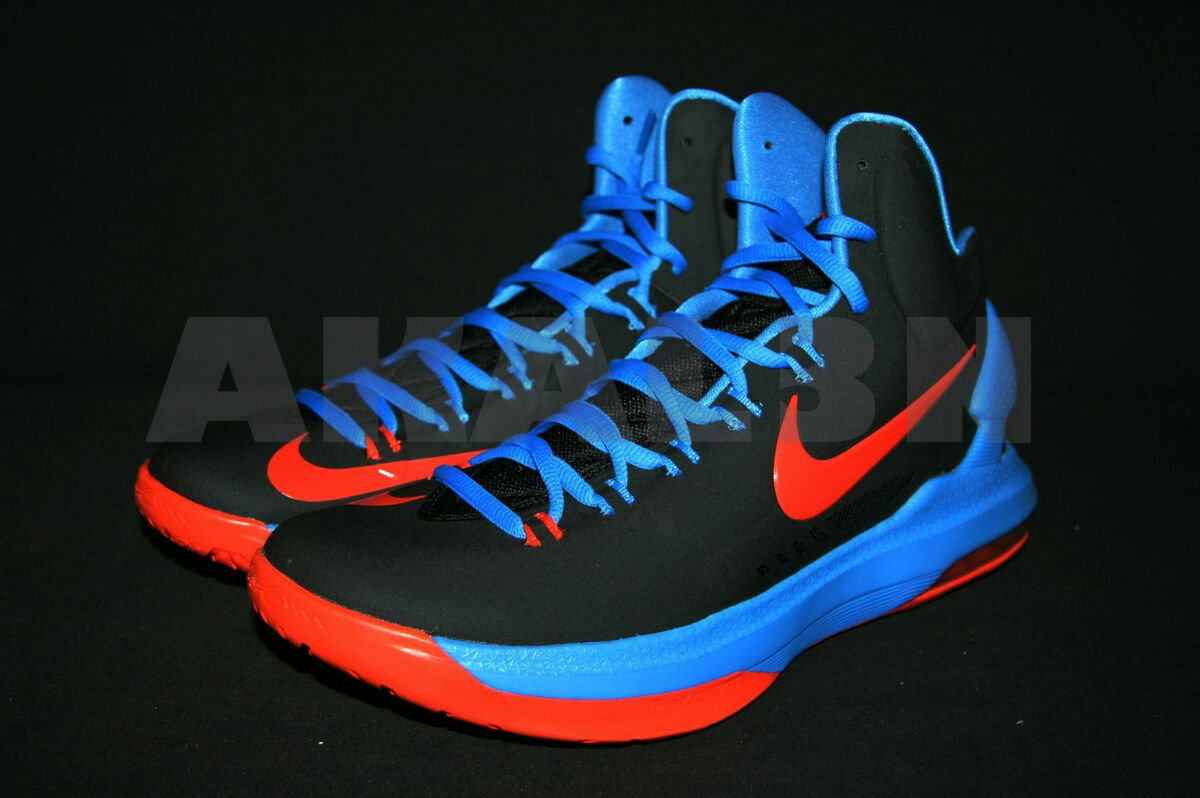check out c0dfd 0d806 Nike KD 5 V Kevin Durant Away 554988 048 Sz 8 13