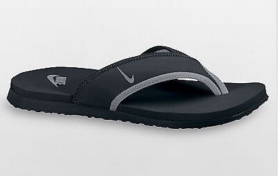 d43d91dacf4 Nike Mens Celso Thong Slide Sandals Black Grey All Sz on PopScreen