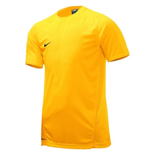 nike men 39 s dri fit athletic yellow gym sport training tee. Black Bedroom Furniture Sets. Home Design Ideas