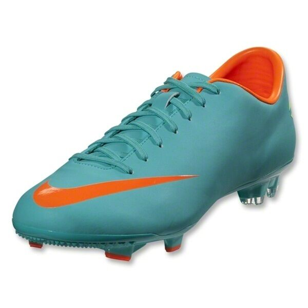 check out 866d6 66dd7 Nike Mercurial Victory III FG Mens Soccer Cleats Turquoise Retro Total