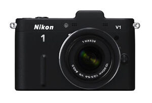 Nikon  1 V1 10.1 MP Digital Camera - Bla...