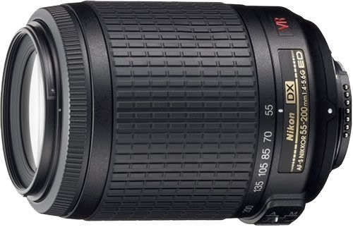 Nikon 55-200mm f/4-5.6G ED IF AF-S DX VR [Vibration Reduction] Nikkor Zoom Lens in Cameras & Photo, Lenses & Filters, Lenses | eBay