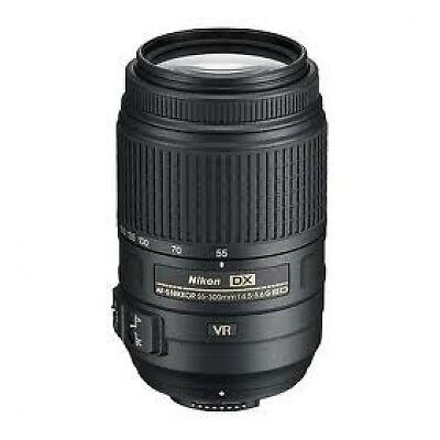 Nikon 55-300mm f/4.5-5.6G ED VR AF-S Zoom Lens ** NEW ** in Cameras & Photo, Lenses & Filters, Lenses | eBay