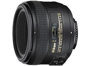 Nikon-AF-S-Nikkor-50-mm-1-4-G-f-Nikon-SLR-Kamera-NEU