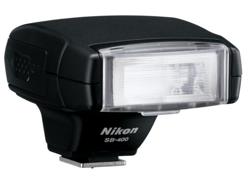 Nikon AF Speedlight SB-400 Flash SB400 USA WARRANTY FREE SHIPPING ROBERTS! in Cameras & Photo, Flashes & Flash Accessories, Flashes | eBay
