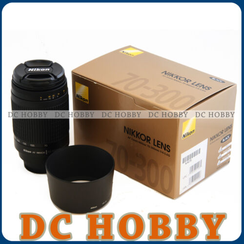 Nikon AF Zoom Nikkor 70-300mm f/4-5.6 G lens 70 300 mm in Cameras & Photo, Lenses & Filters, Lenses | eBay