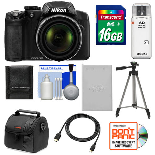 Nikon Coolpix P510 GPS Digital Camera Kit 16.1 MP Black USA in Cameras & Photo, Digital Cameras | eBay