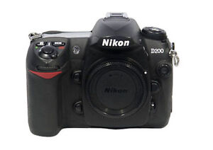 Nikon D200 10.2 MP Digital SLR Camera - ...