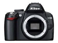 Nikon D3000 10.2 MP Digital SLR Camera -...
