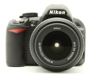 Nikon D3100 14.2 MP Digitalkamera - (AF-...