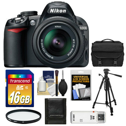 Nikon D3100 Digital SLR Camera Body & 18-55mm VR Lens USA in Cameras & Photo, Digital Cameras | eBay