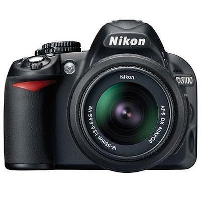 Adorama - Refurb. Nikon D3100 dSLR Camera w/18-55mm VR lens - $299.99