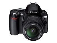 Nikon D40 6.1 MP Digital SLR Camera - Bl...