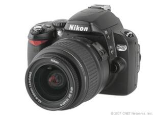 Nikon D40x 10.2 MP Digital SLR Camera - ...