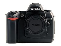 Nikon D70 6.1 MP Digital SLR Camera - Bl...