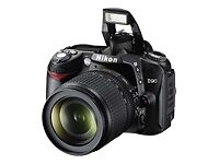 Nikon D90 12.3 MP Digital SLR Camera - B...