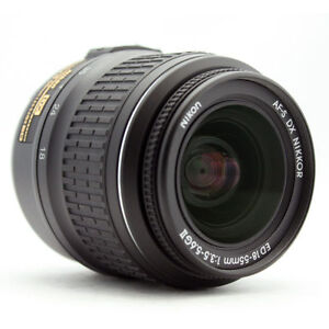 Nikon DX Zoom Nikkor 18-55 mm F/3.5-5.6 ...