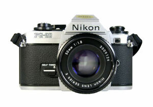 Nikon FG-20 35mm SLR Film Camera