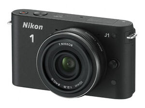 Nikon J1 10.1 MP Digital Camera - Black ...