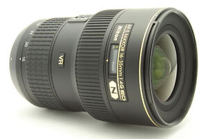 Nikon Nikkor 16-35 mm F/4 AS G SWM AF-S ...