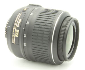 Nikon Nikkor 18-55 mm F/3.5-5.6 AS DX G ...