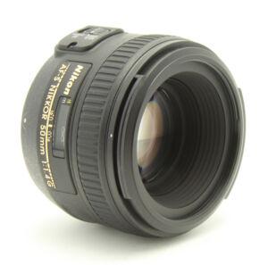 Nikon Nikkor 50 mm F/1.4 SWM AF-S G M/A ...