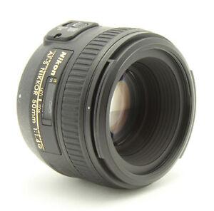 Nikon Nikkor AF-S 50 mm F/1.4 SWM AF-S G...