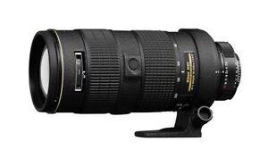 Nikon Zoom-Nikkor 1986 80-200mm F/2.8 AF...