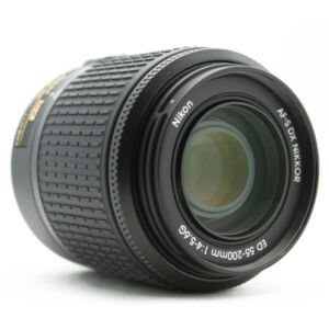 Nikon Zoom-Nikkor 55-200 mm F/4-5.6 DX G...