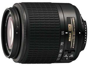 Nikon Zoom-Nikkor 55-200 mm F/4-5.6 SWM ...