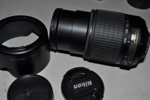Nikon Zoom-Nikkor 55-200mm F/4.0-5.6 DX G ED AF-S Lens (2156) in Cameras & Photo, Lenses & Filters, Lenses | eBay
