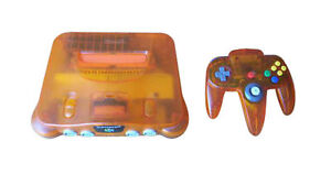 Nintendo 64 Fire Orange Spielkonsole (PA...