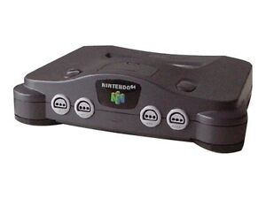 Nintendo 64 Smoke Grey Console (PAL)