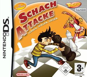 Nintendo DS DSI Toggo Games Schach Attacke - lernen