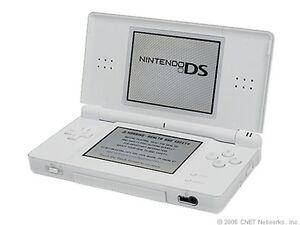 Nintendo DS Lite Polar Weiß Handheld-Spi...