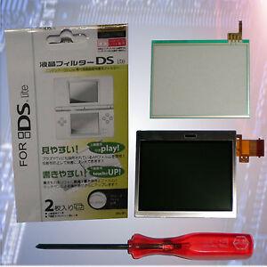 Nintendo-Ds-lite-LCD-Display-unten-Touchscreen-Tri-Displayschutzfolie-Neu