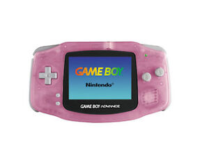 Nintendo Game Boy Advance Pink Handheld