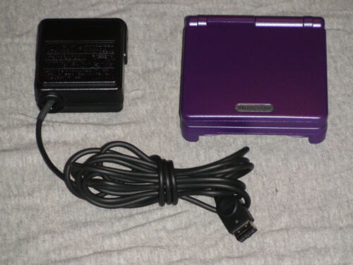 Nintendo Game Boy Advance SP MINT PURPLE AGS-101 CONSOLE! GBA in Video Games & Consoles, Video Game Consoles | eBay