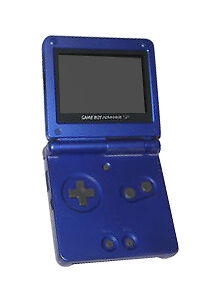 Nintendo Game Boy Advance SP Pearl Blue ...