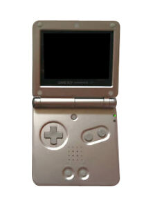 Nintendo Game Boy Advance SP Silber Hand...