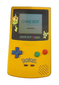 Nintendo Game Boy Color Gold & Silver Ha...