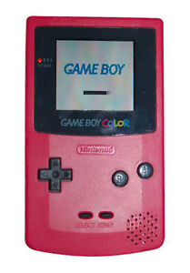 Nintendo Game Boy Color Red Handheld Sys...