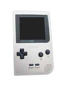 Nintendo Game Boy Pocket Silver Handheld