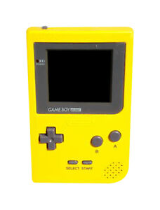 Nintendo Game Boy Pocket Yellow Handheld
