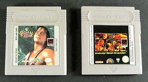 Nintendo-GameBoy-Wrestling-Pak-WWF-Raw-und-WWF-King-of-the-Ring