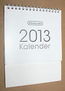 Nintendo Games Mario Luigi Yoshi etc promo German Calendar 2013 - Deutschland - Nintendo Games Mario Luigi Yoshi etc promo German Calendar 2013 - Deutschland
